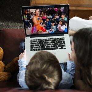 Animación Infantil Virtual (50  minutos)