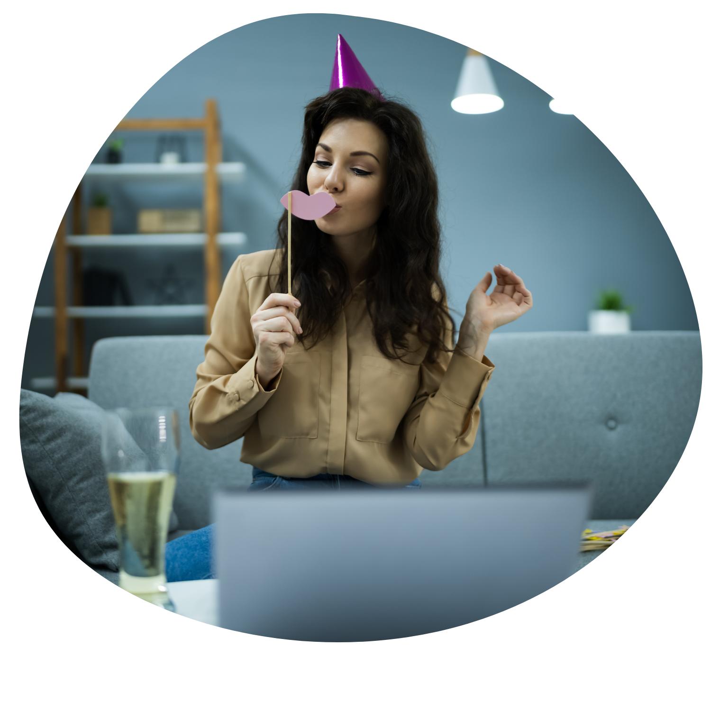 Somos una gran alternativa para los eventos virtuales para  tu empresa.